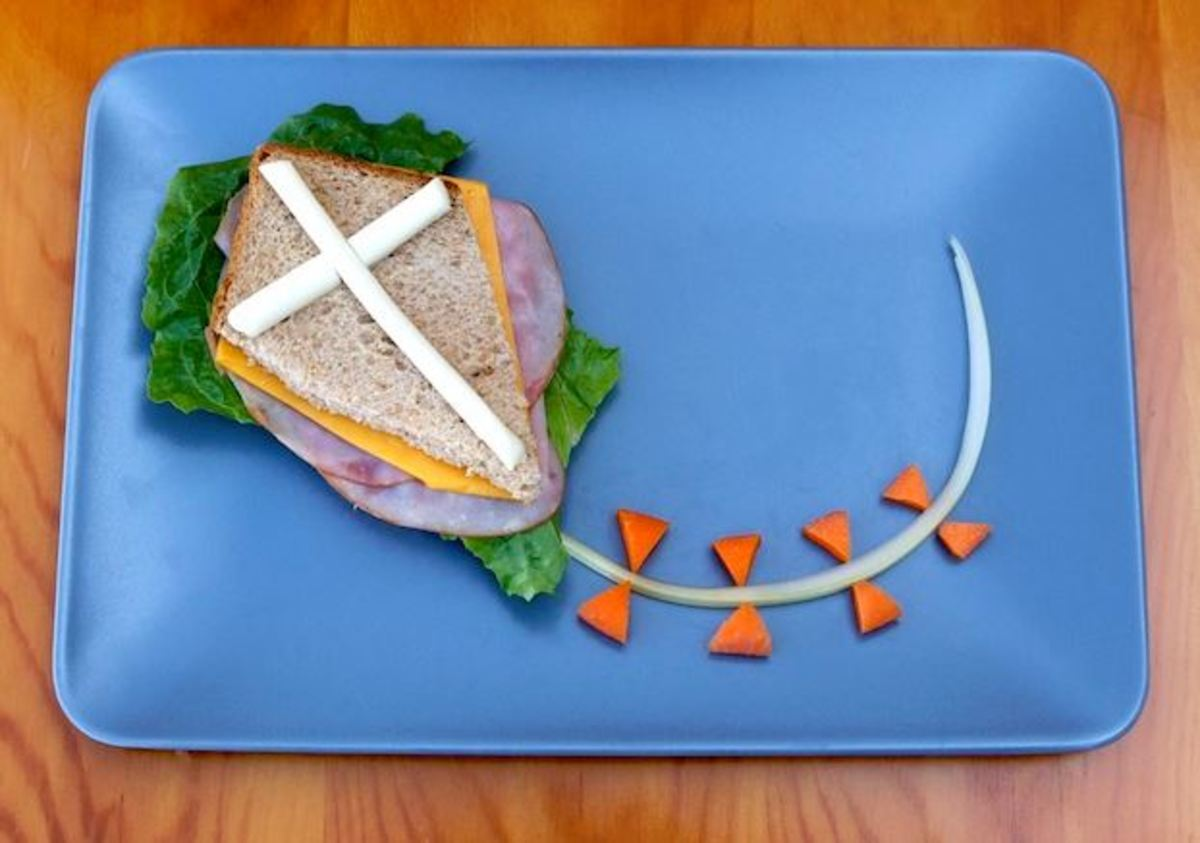 Recipe.com - Let's Go Fly a Kite for Lunch