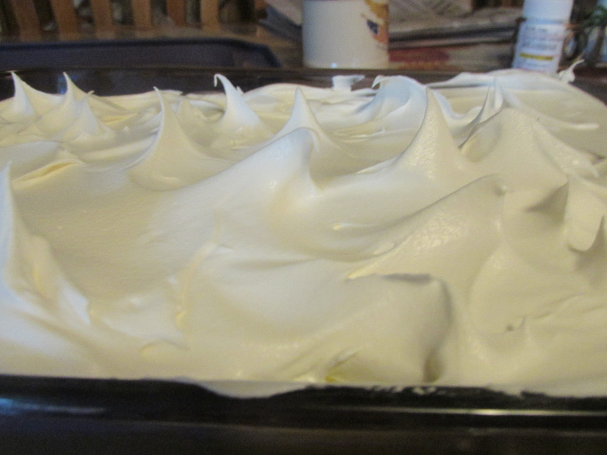 4th layer with Cool Whip