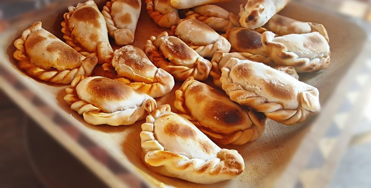Empanadas can be baked . . .