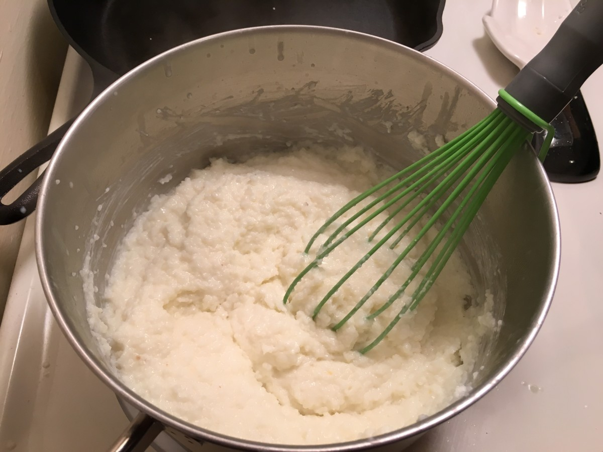 I was pleasantly surprised by how easy the grits were to put together.