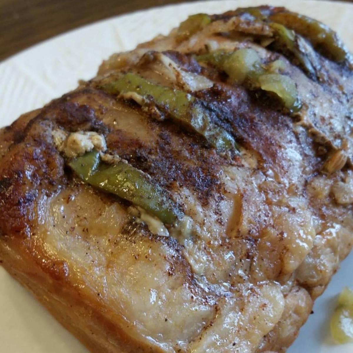 honey apple pork roast: Isn't she a beauty?