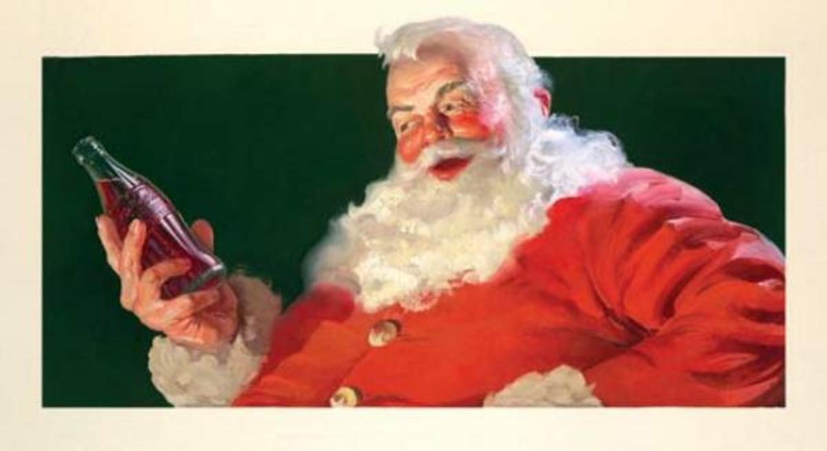 Santa and Coke