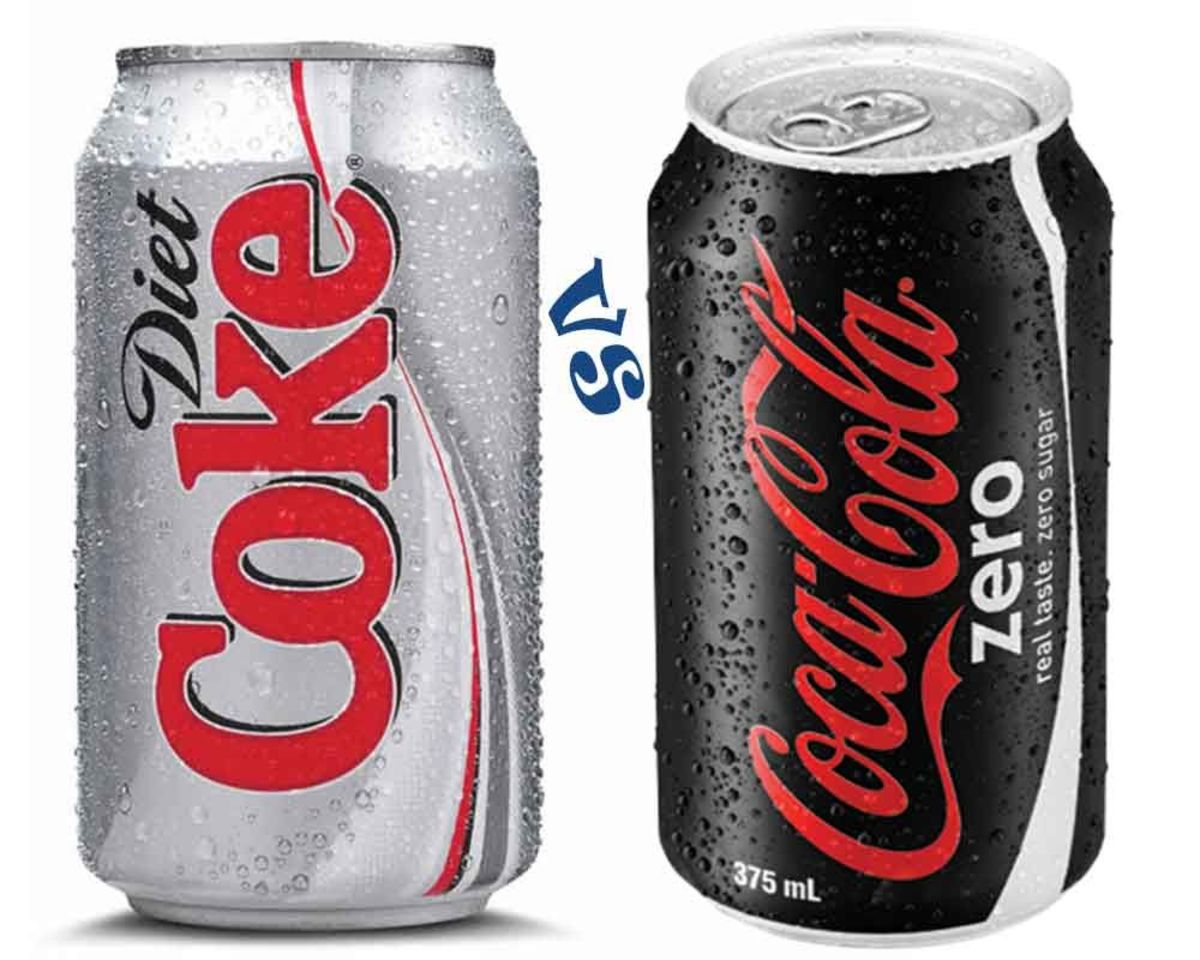 Diet Coke and Coke Zero