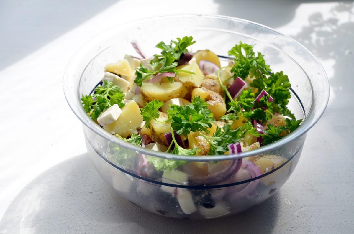 Carb Diva's Light Lemon/Caper Potato Salad