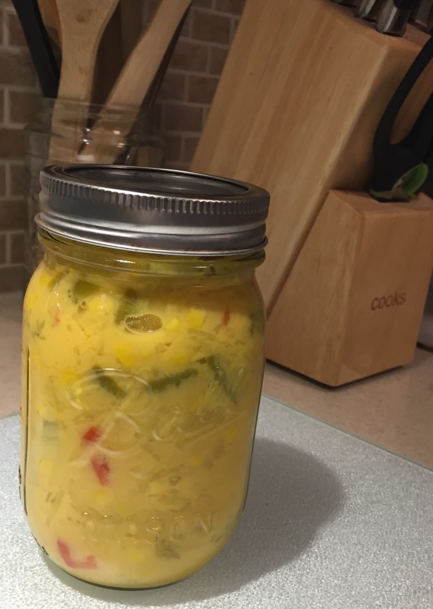 canned corn relish