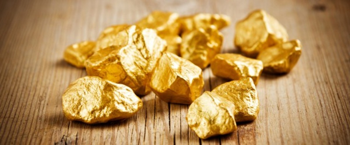 Even gold loses its shine in time