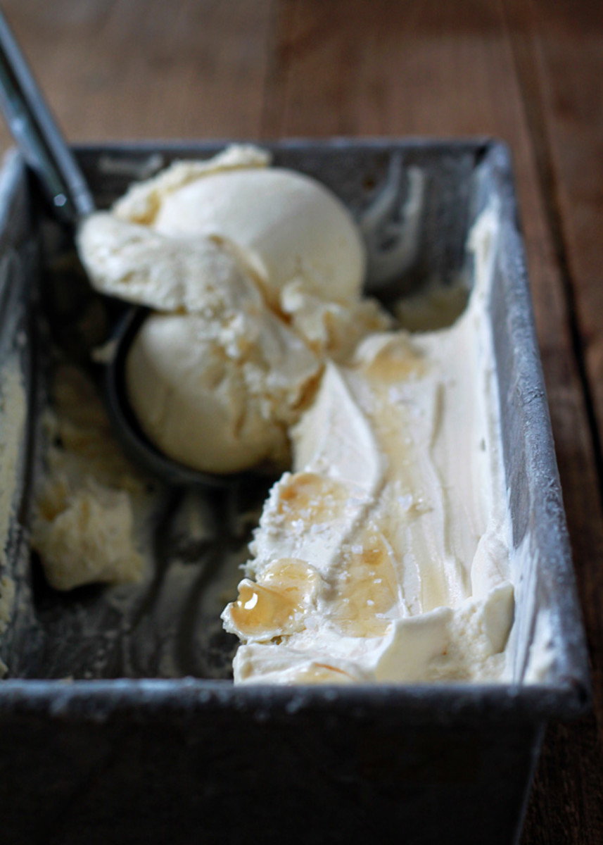 Sea Salt and Honey Ice Cream