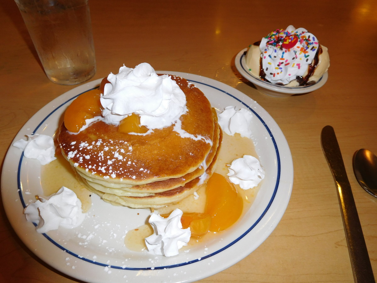 My free birthday birthday breakfast at IHOP!