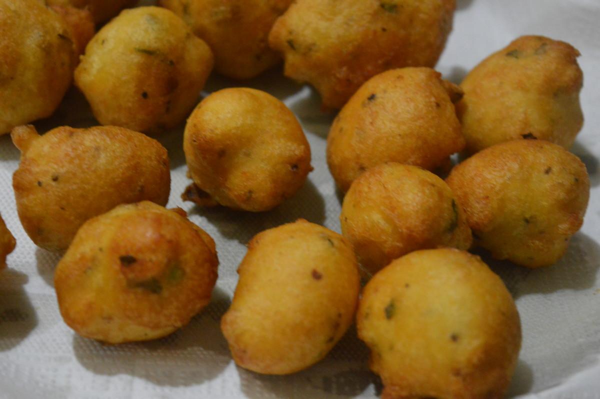 Lentil balls(bonda)
