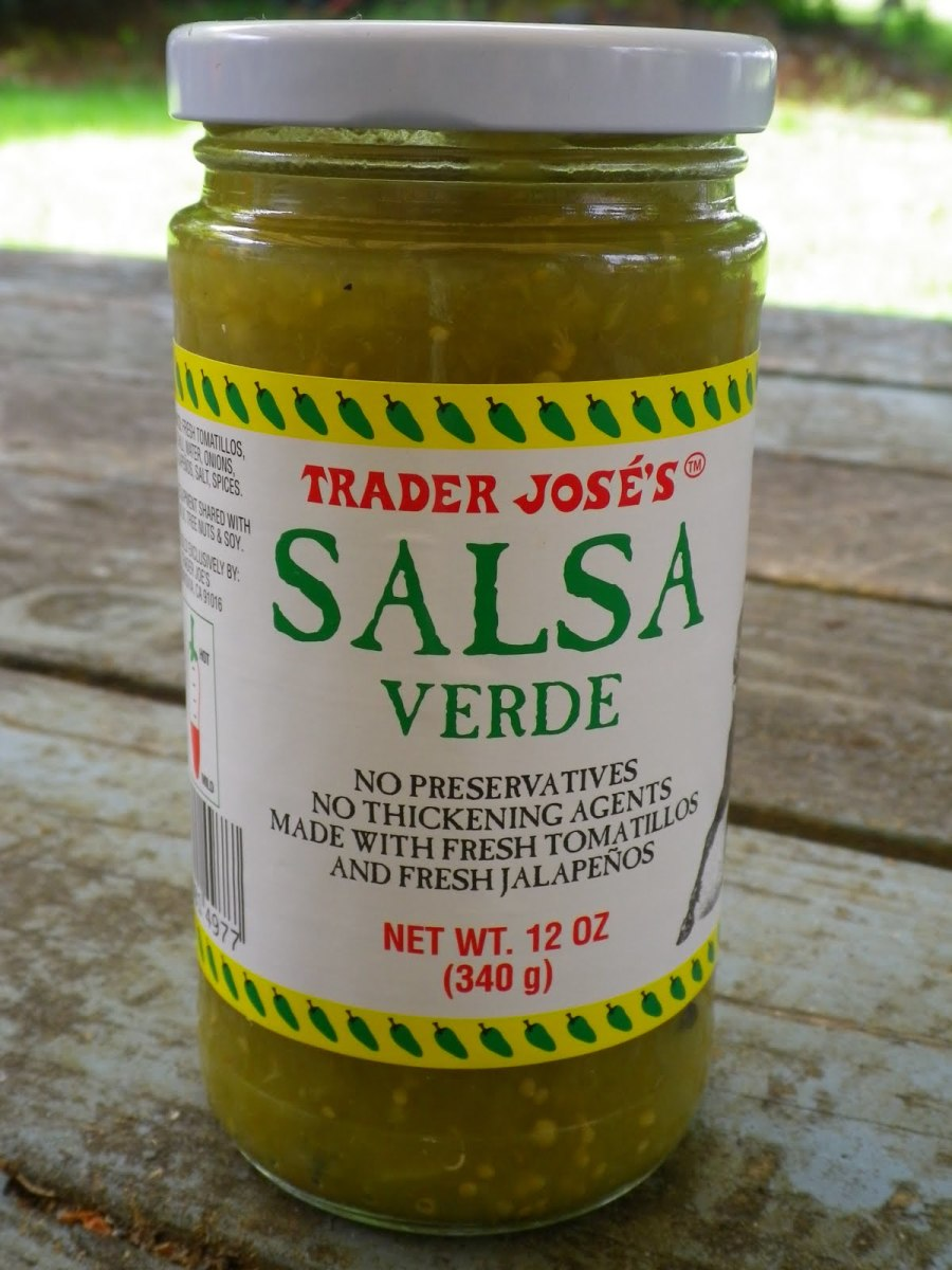 A Jar of Trader Joe's Salsa Verde