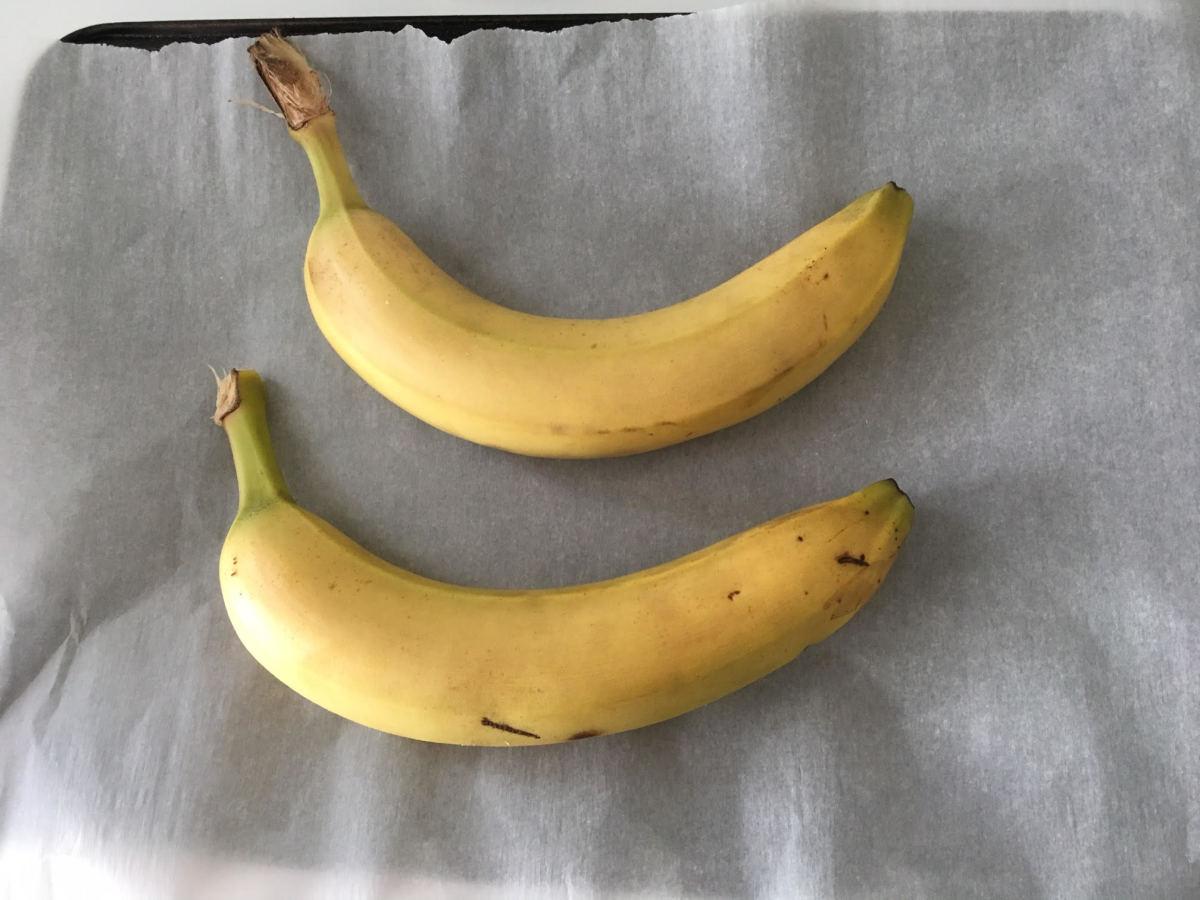 non-ripe bananas