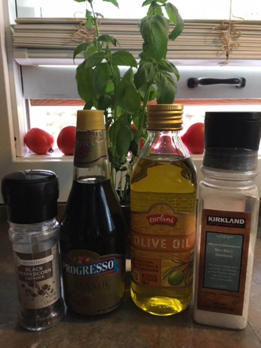Simple seasonings for the dressing