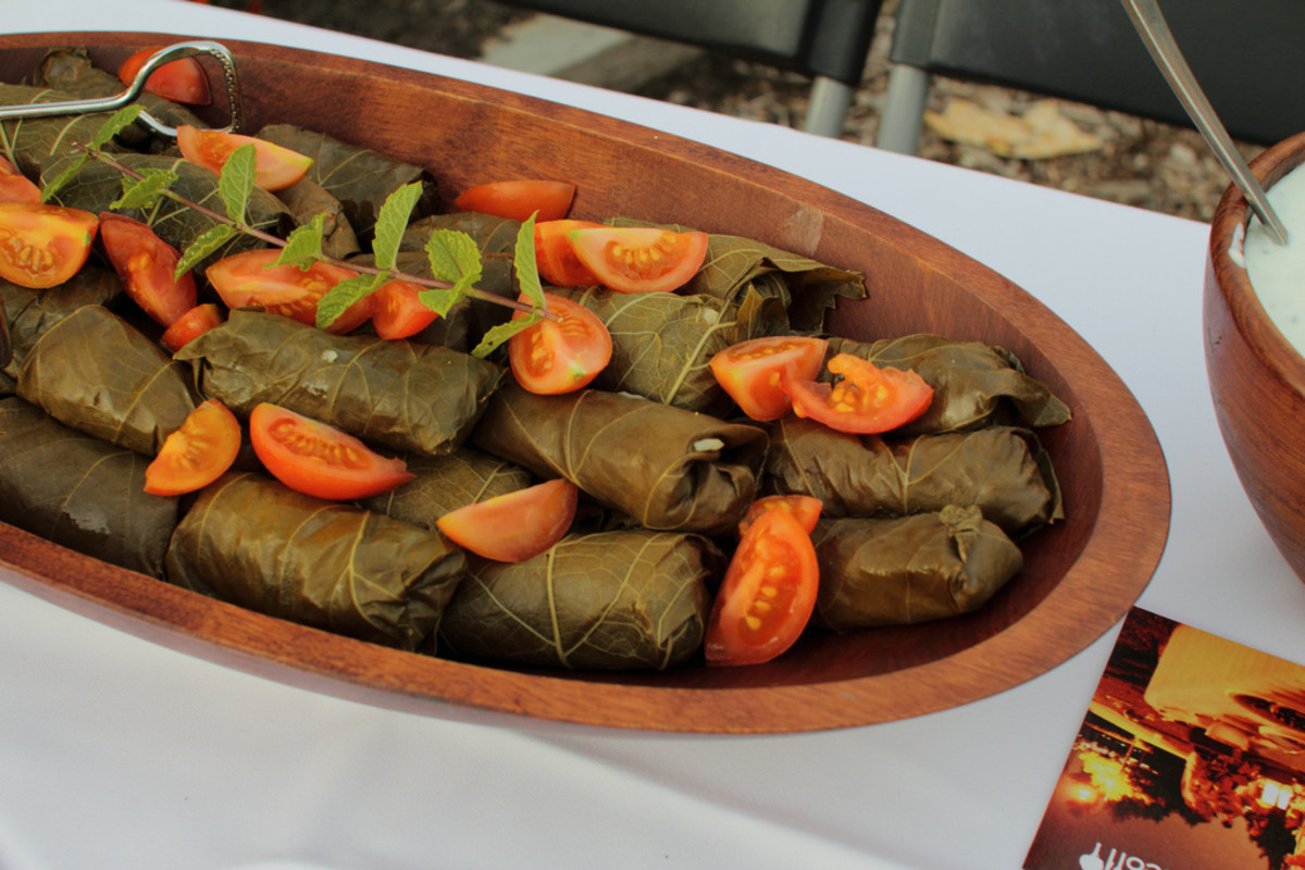 Dolmades: a traditional, delicious vegan dish