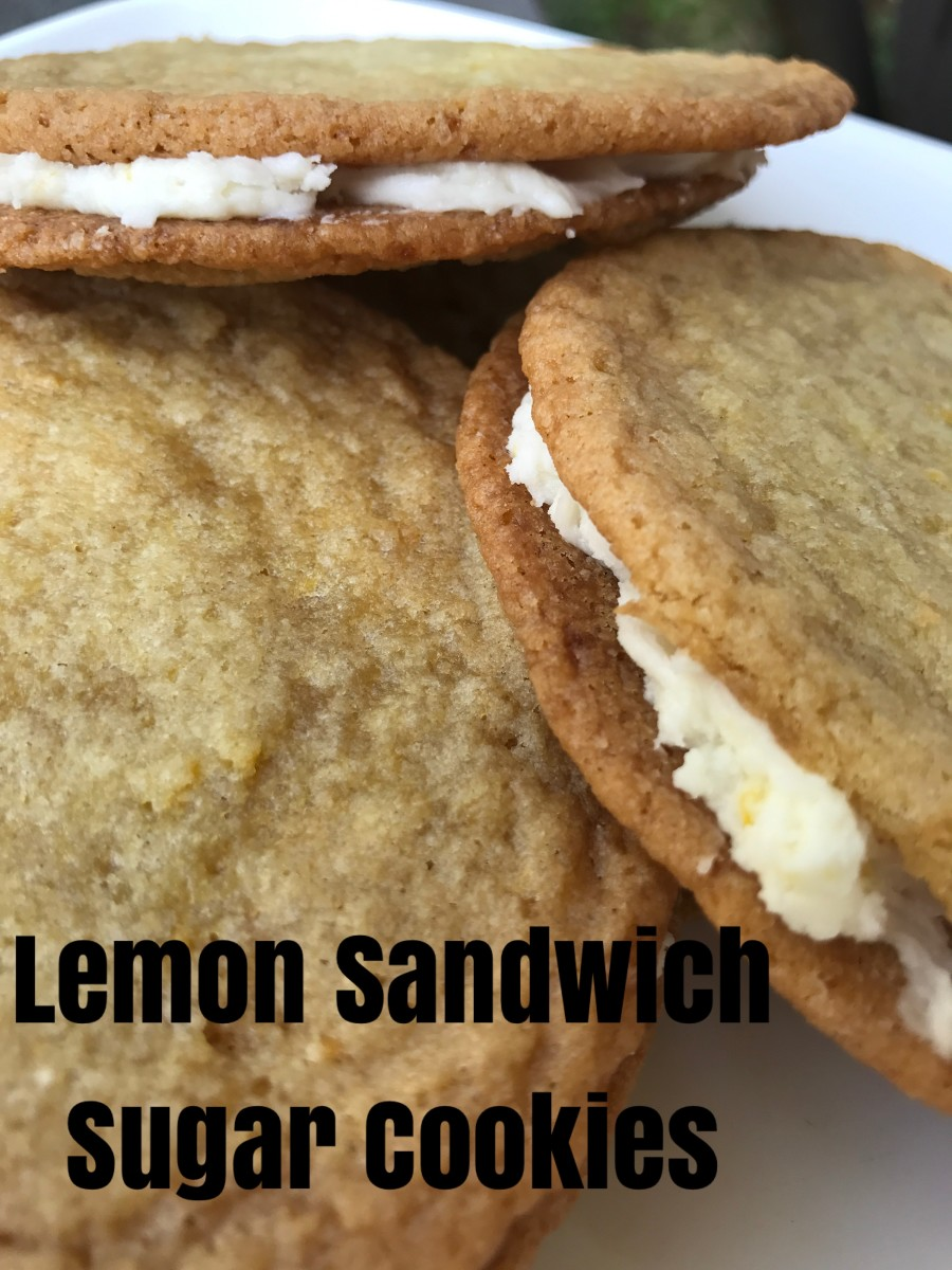 Your family will adore these gorgeous lemony sandwich cookies.