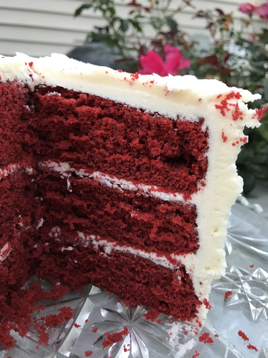This frosting is the original BFF for classic red velvet cake, popular before cream cheese frosting was even thought of. It's still our favorite go-to for this classic dessert.