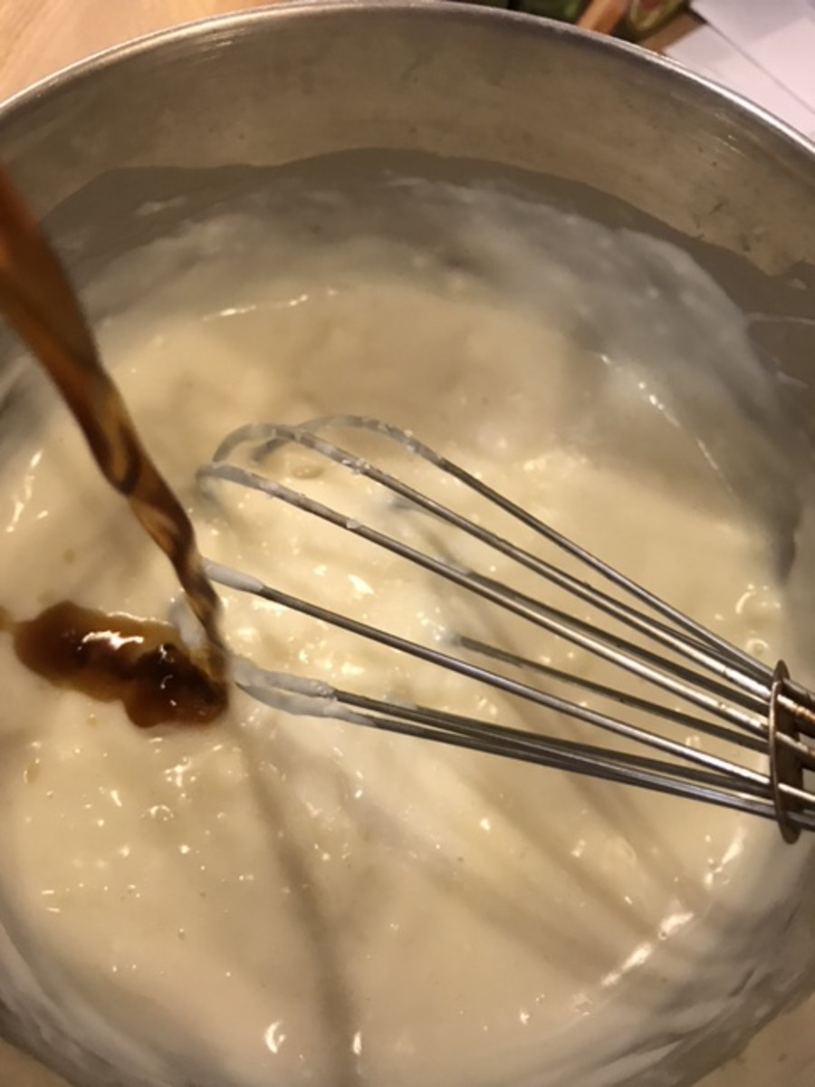 Real vanilla extract is the key to the subtle, complex flavors of this beautiful old fashioned frosting.