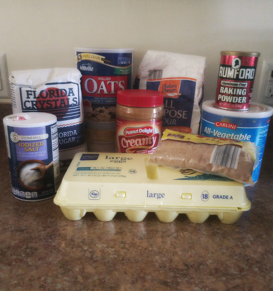 Ingredients needed.