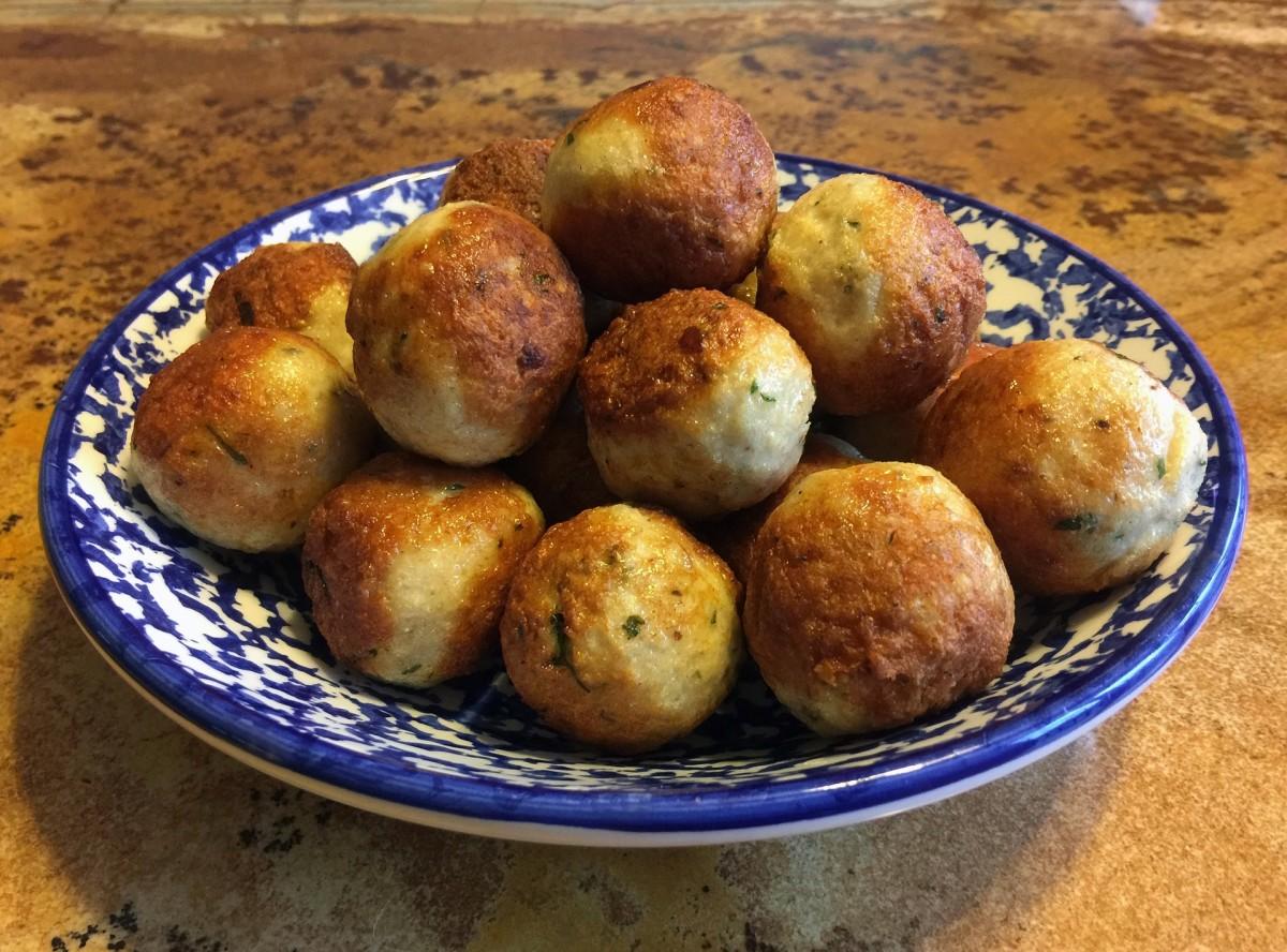 "Tofu ""Meatballs"""