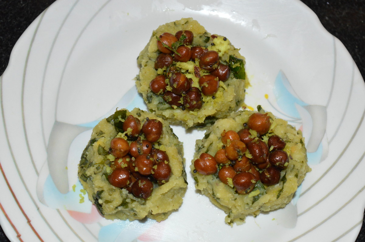 Step ten: Fill each of the lentil baskets with the chickpea salad. Eat 3-4 of them for the breakfast. Enjoy the taste!