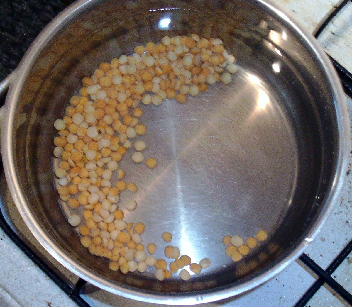 Dried yellow split peas