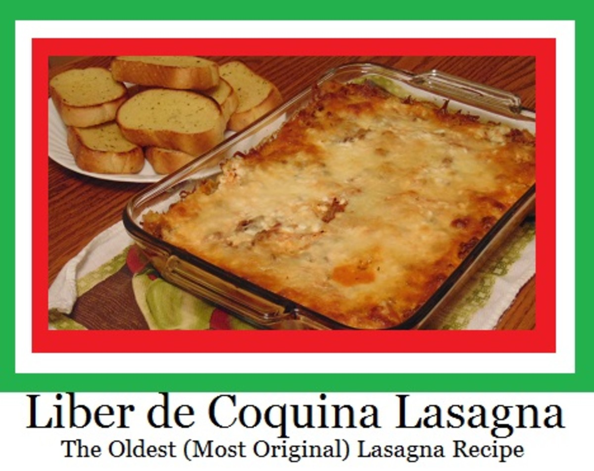 A lasagna recipe from the 14th century