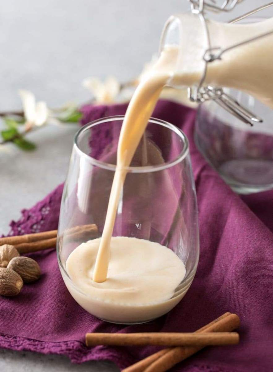Five-Minute Homemade Blender Eggnog