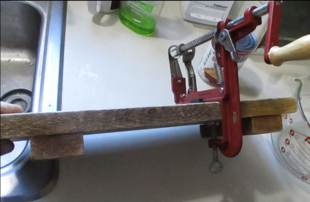 mount on cutting board