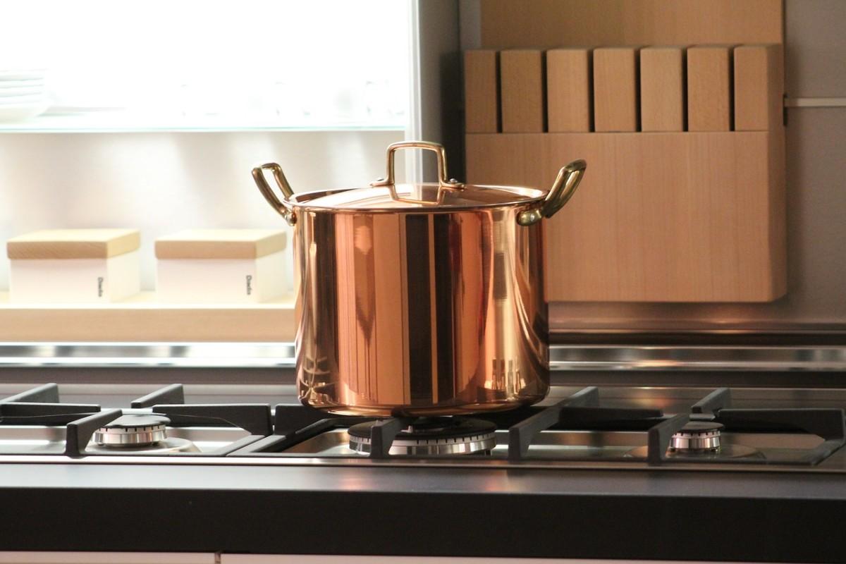 Copper Stew Pot
