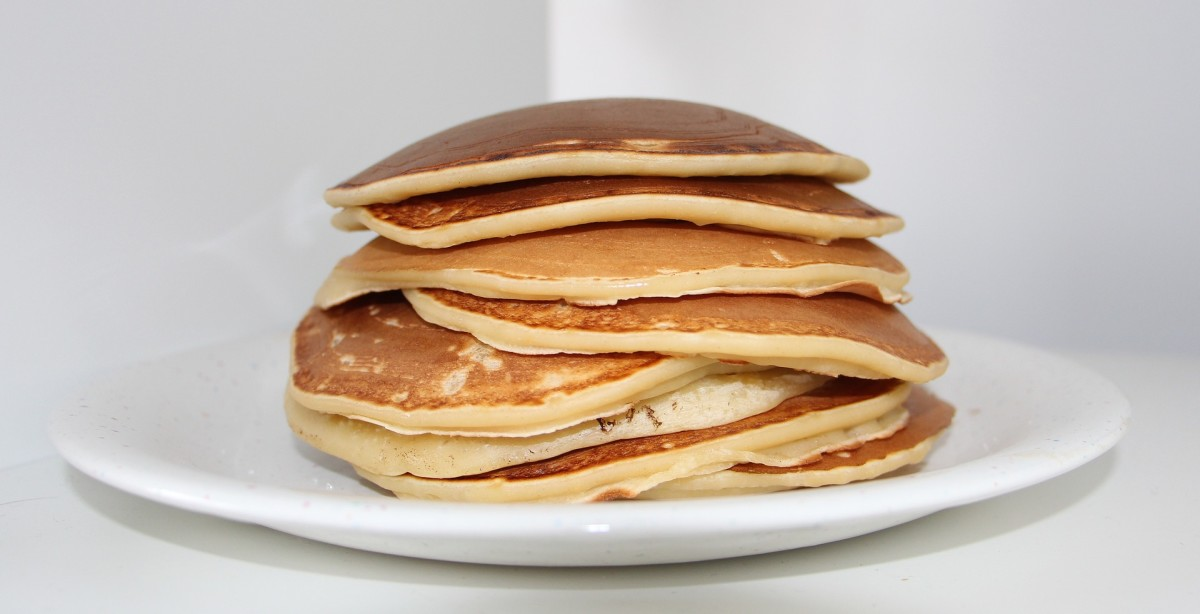 Carb Diva's (Almost) Famous Pancakes