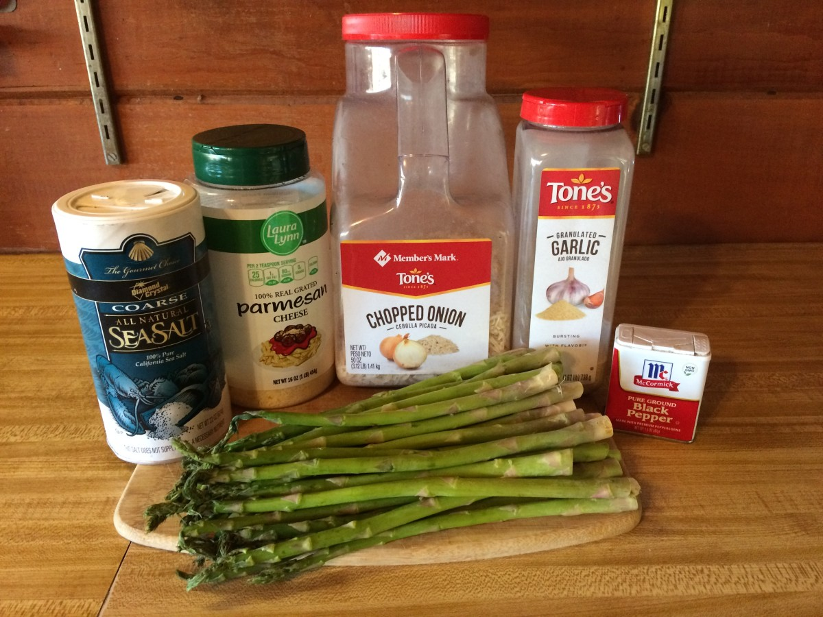 Seasoned, Baked Asparagus Recipe
