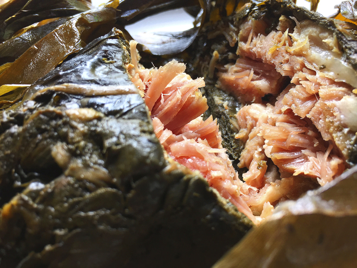 Laulau - authentic Hawaiian cuisine at its best.