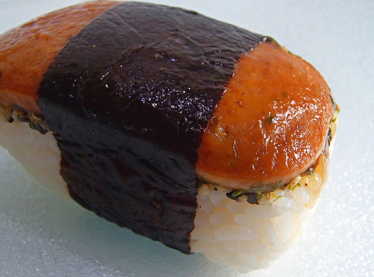Size doesn't matter! Musubi will fill you up.