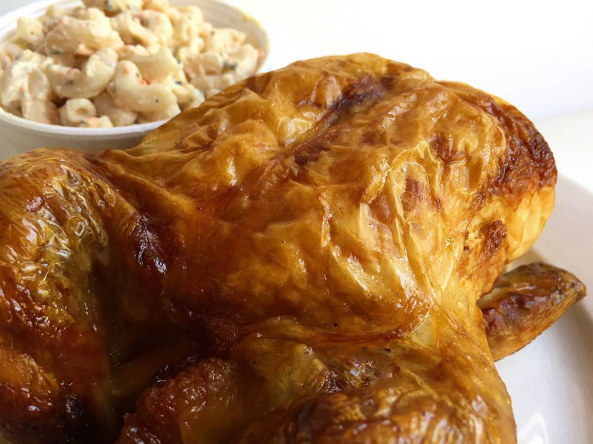 A roasted chicken you won't forget.