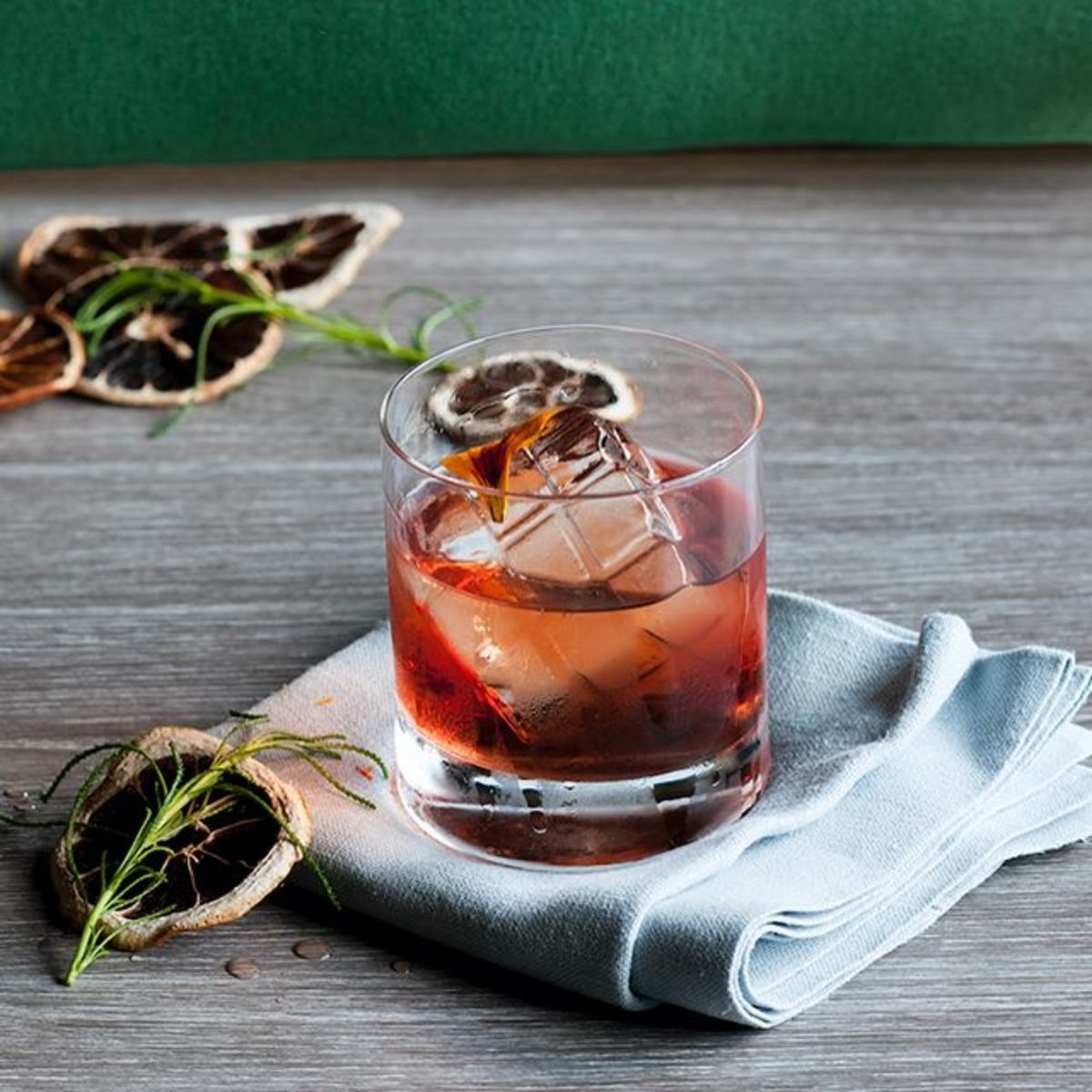 Winter-spiced Negroni.