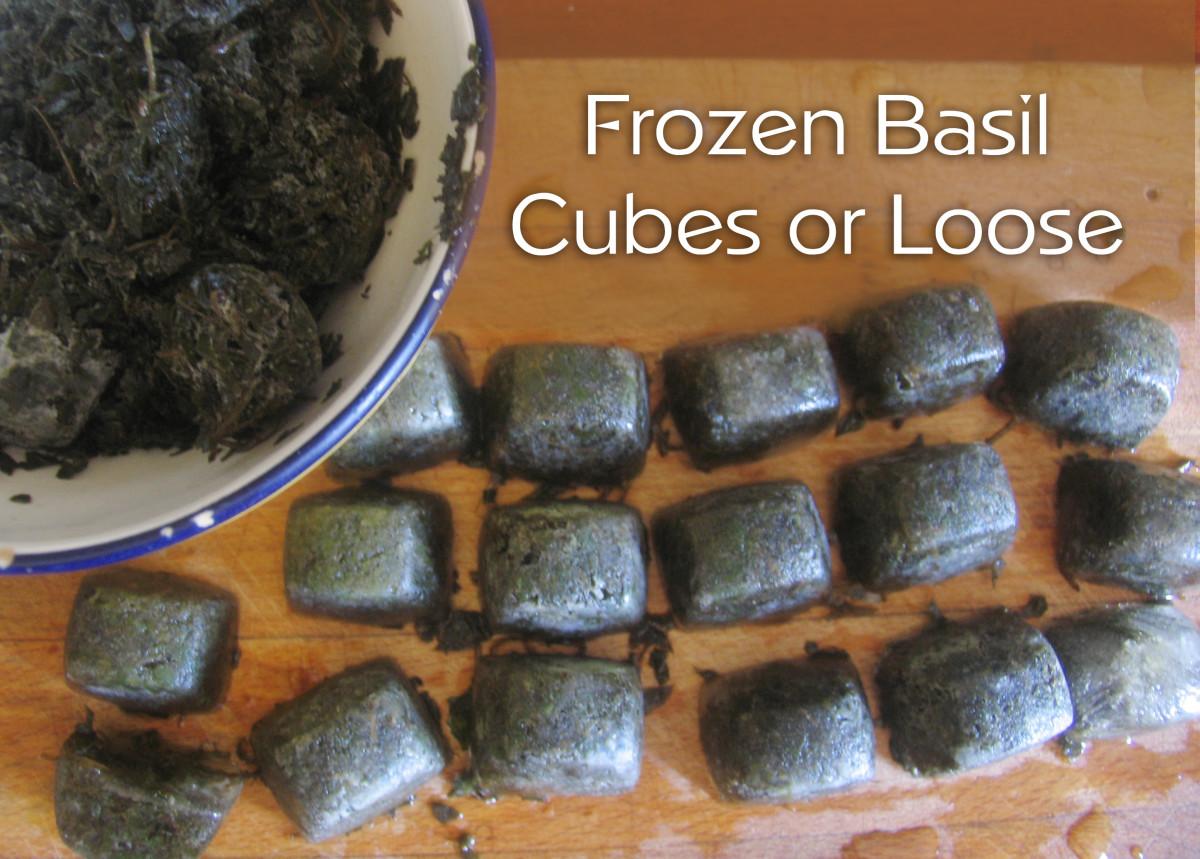 Frozen Basil