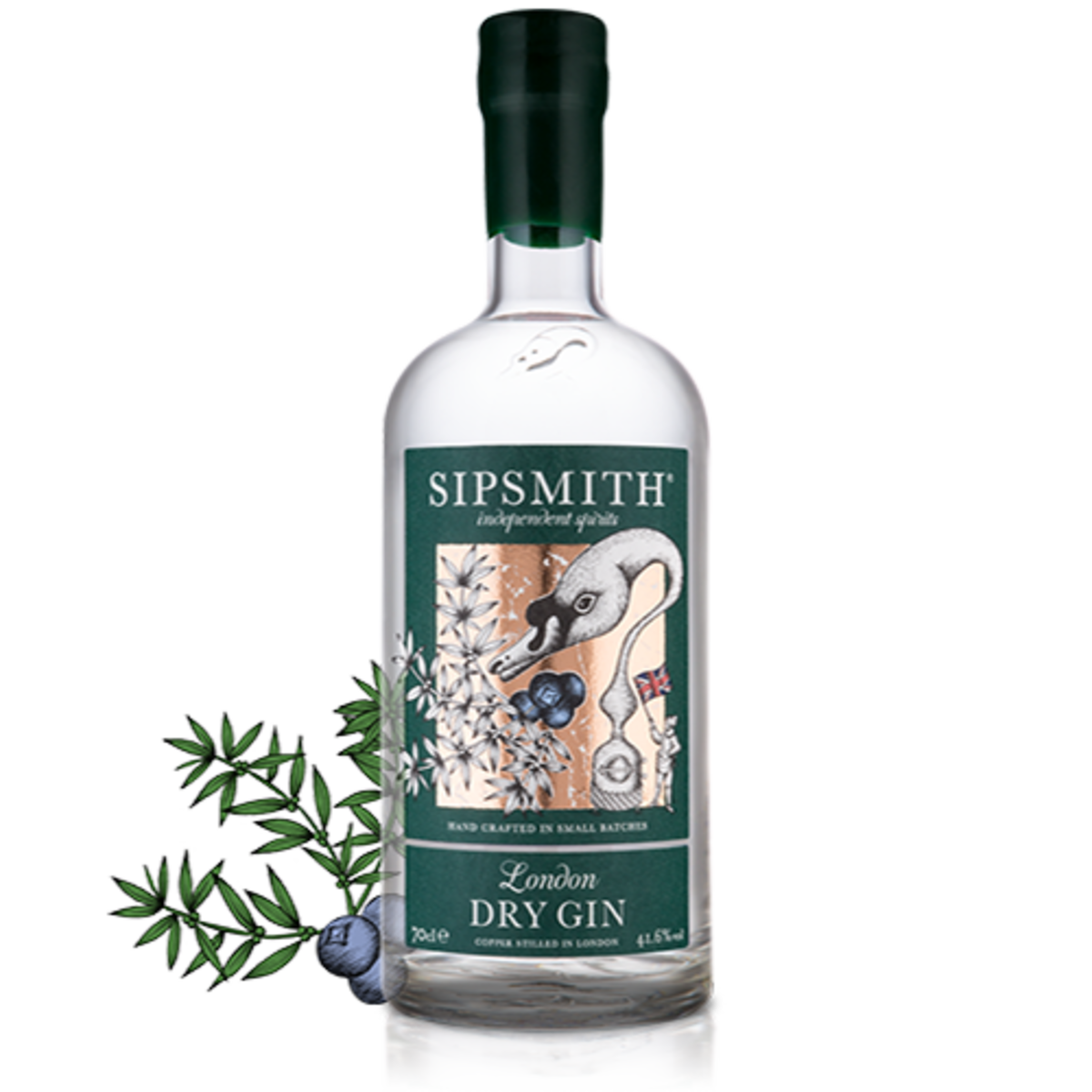 Sipsmith London Dry Gin. Sipsmith's first home was in the former abode of Michael Jackson (the UK whisky writer, not the US pop star). Starting with one still, called Prudence, they quickly expanded operations as the popularity of their products grew