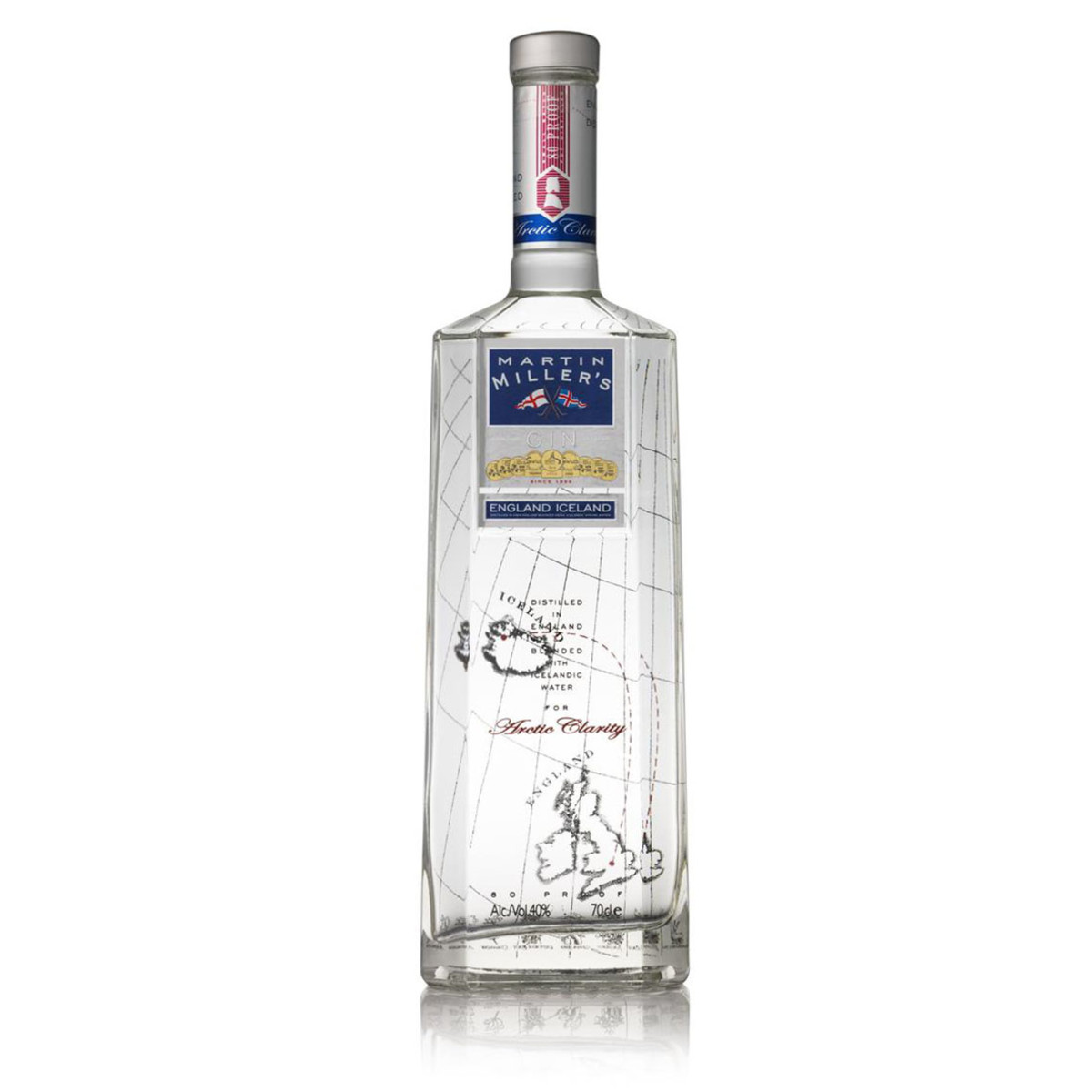 A pioneer of the gin renaissance, Martin Miller's brought a new take on gin, including using cucumber as a botanical for a dry finish, and pure Icelandic water for dilution, giving the gin a softer taste experience overall.