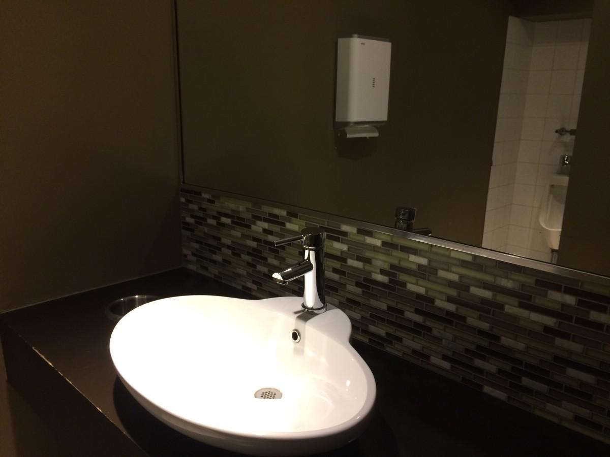 The beautiful washroom