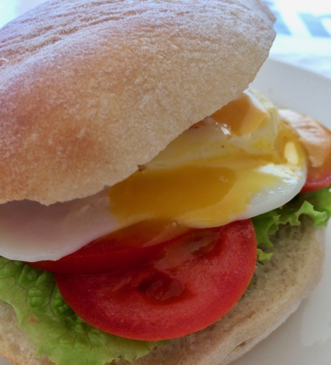 A Fried Egg Sandwich
