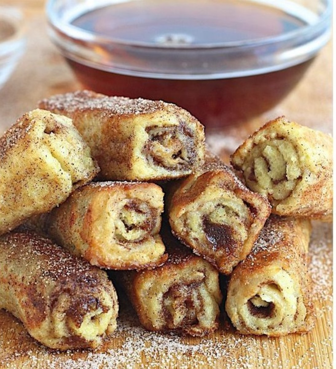 French Toast Rollups