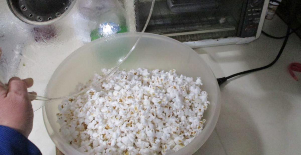 pour into bowl