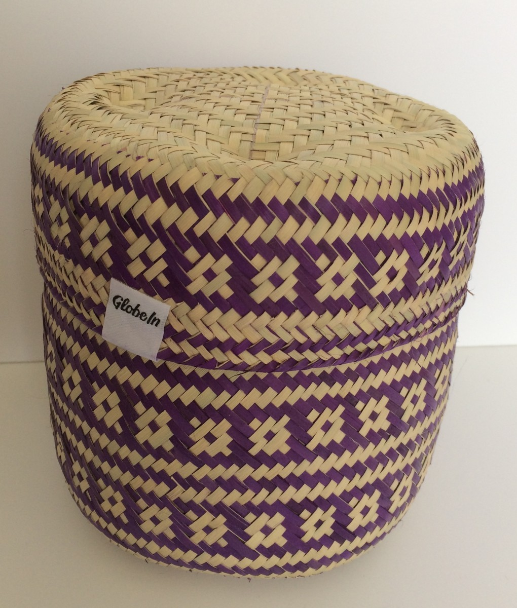 Handwoven basket from Mexico