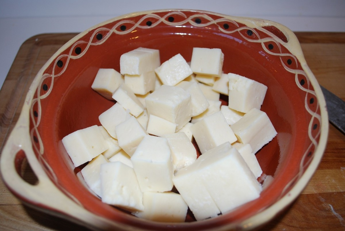 Cubed Panela Cheese