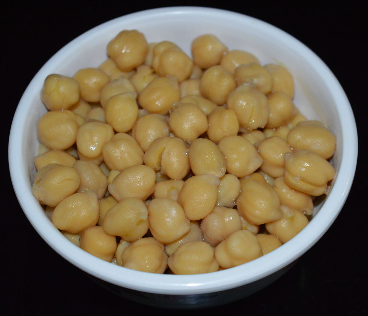 Cooked chickpeas(garbanzo beans)
