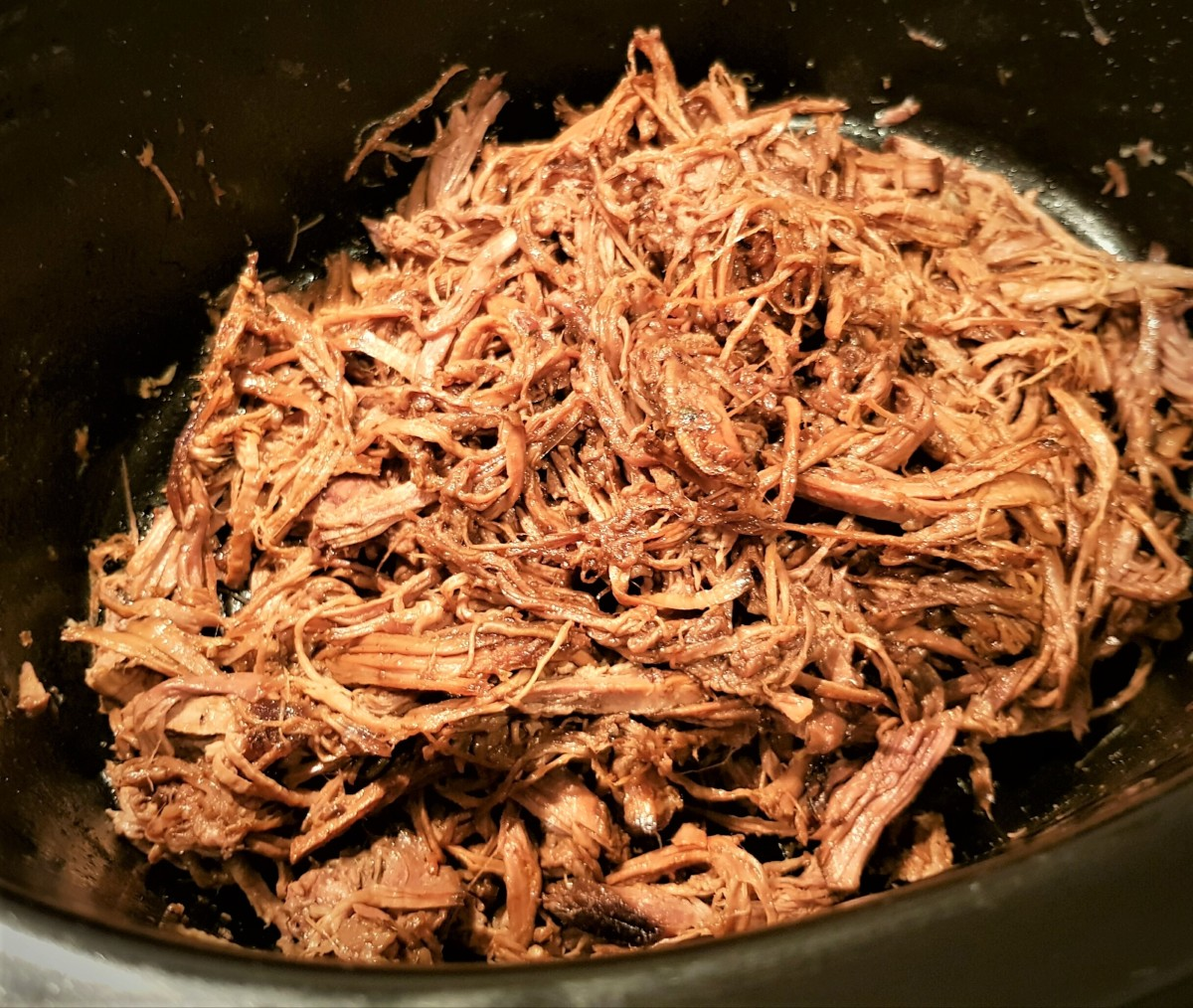 Slow cooker pulled beef brisket recipe