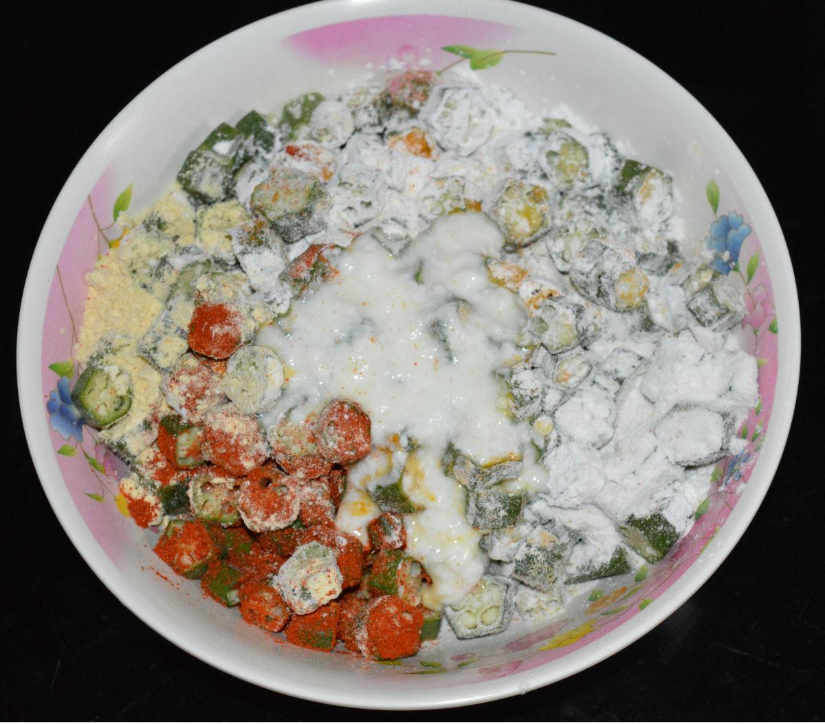 Add curd or yogurt.