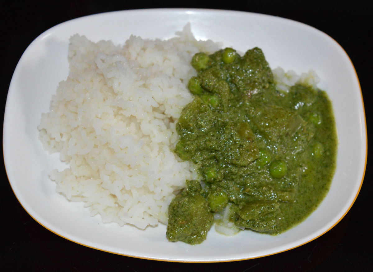 Enjoy eating this creamy and flavorful side dish with hot boiled rice!