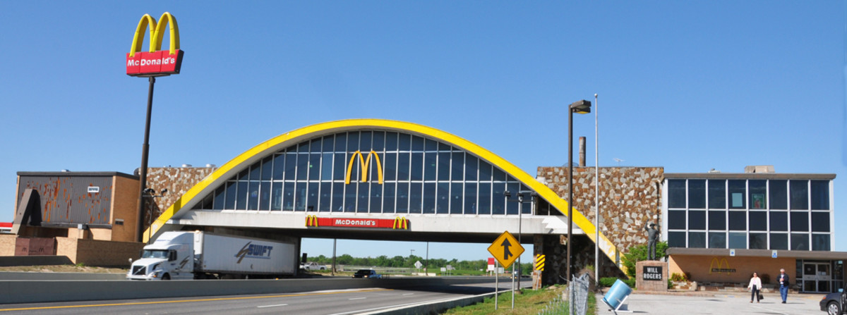 Former Home to the World's Largest McDonald's