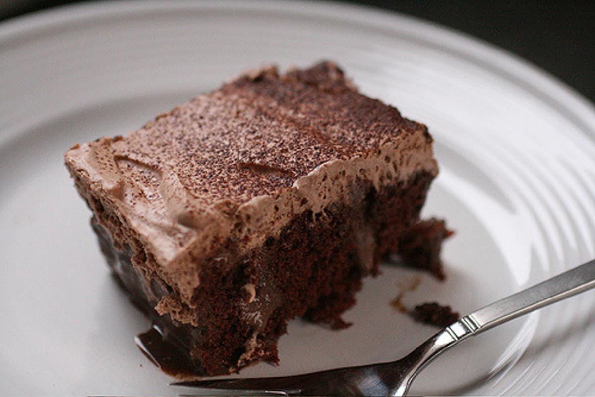 Tres Cocoas Leches Cake