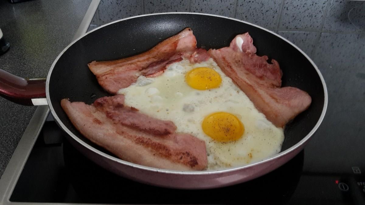 Non-controversial bacon and eggs